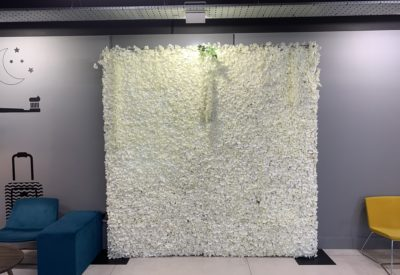 Crem Flower Wall